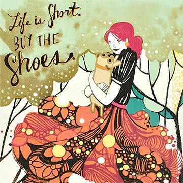 Buy Life Is Short Buy The Shoes Notebook, a Book from Walking Pants Curiosities, the Best Gift Shop Store in Memphis, Tennessee!