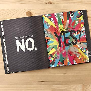 Buy Yes, An Encouraging Hardcover Gift Book, a Book from Walking Pants Curiosities, the Best Gift Shop Store in Memphis, Tennessee!