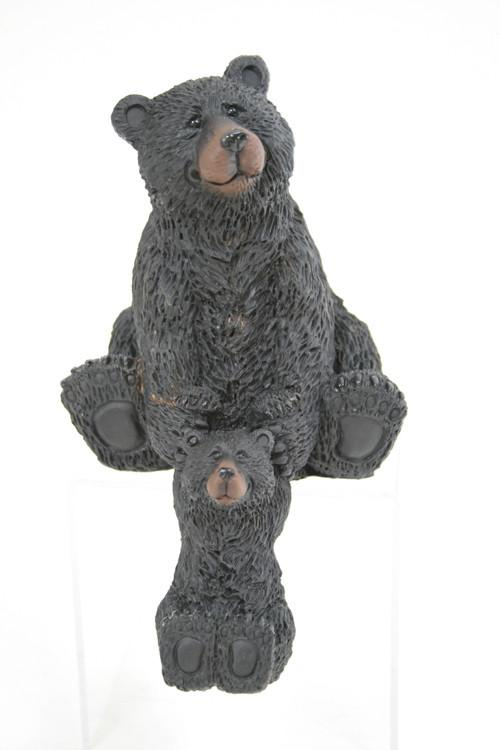 Buy Bear with Cub Figurine from Walking Pants Curiosities, the Most un-General Gift Store in Downtown Memphis, Tennessee!