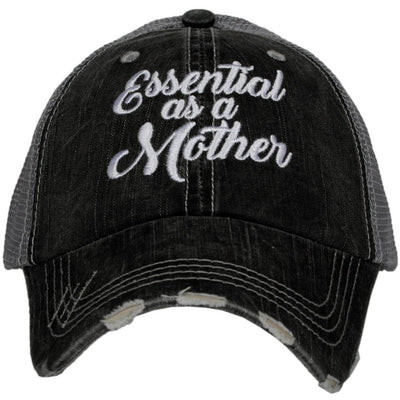 Buy Essential As A Mother Quarantine Hat from Walking Pants Curiosities, the Most un-General Gift Store in Downtown Memphis, Tennessee!