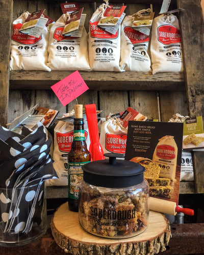 Buy Soberdough Bread Mix from Walking Pants Curiosities, the Most un-General Gift Store in Downtown Memphis, Tennessee!