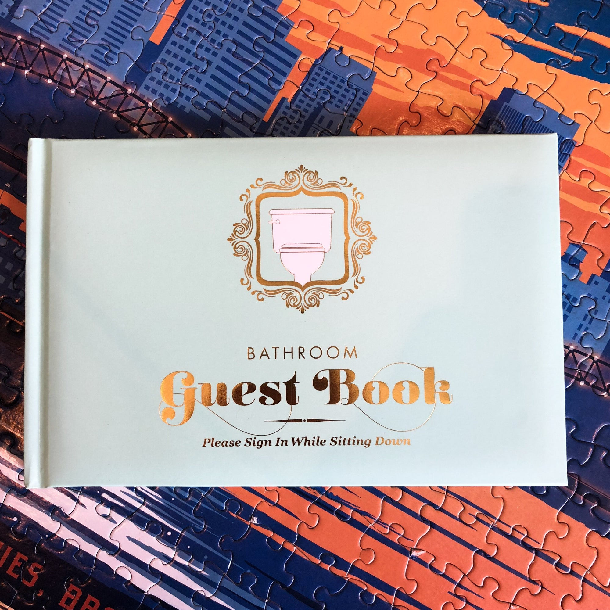 Buy Bathroom Guest Book from Walking Pants Curiosities, the Most un-General Gift Store in Downtown Memphis, Tennessee!