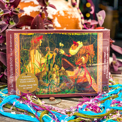 Buy The Love Declaration; 500-Piece Jigsaw Puzzle from Walking Pants Curiosities, the Most un-General Gift Store in Downtown Memphis, Tennessee!