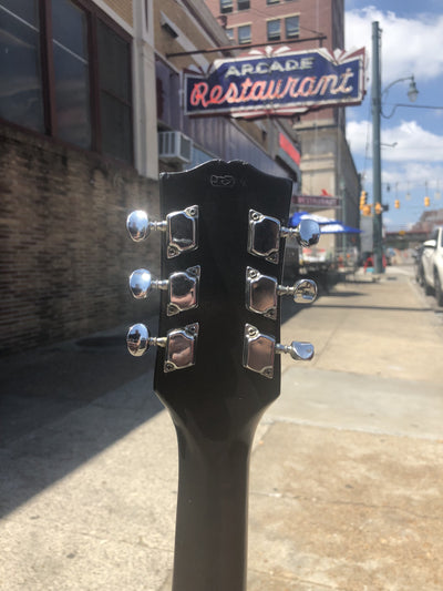 Buy Harley Davidson Upcycled Stained Glass Guitar from Walking Pants Curiosities, the Most un-General Gift Store in Downtown Memphis, Tennessee!