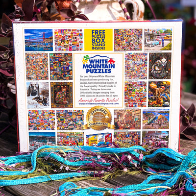 Buy The Nineties 90's 1000 Piece Jigsaw Puzzle from Walking Pants Curiosities, the Most un-General Gift Store in Downtown Memphis, Tennessee!