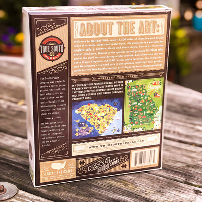 Buy Florida : Discover the States Series, 500 Piece Jigsaw Puzzle from Walking Pants Curiosities, the Most un-General Gift Store in Downtown Memphis, Tennessee!