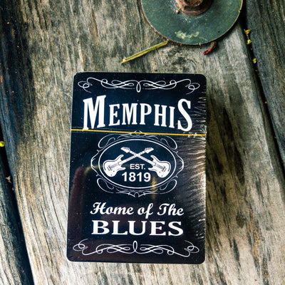 Buy Memphis Tennessee Playing Cards from Walking Pants Curiosities, the Most un-General Gift Store in Downtown Memphis, Tennessee!