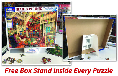Buy Grandpa's Pride & Joy 1000 Piece Jigsaw Puzzle from Walking Pants Curiosities, the Most un-General Gift Store in Downtown Memphis, Tennessee!