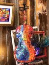 Buy Devil in a Blue Dress Stained Glass Cello from Walking Pants Curiosities, the Most un-General Gift Store in Downtown Memphis, Tennessee!