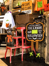 Buy All About The Candy Countdown to Halloween Sign, a Halloween Decor from Walking Pants Curiosities, the Best Gift Store in Downtown Memphis, Tennessee!
