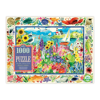 Buy Seagull Garden 1000 Piece Rectangle Jigsaw Puzzle from Walking Pants Curiosities, the Most un-General Gift Store in Downtown Memphis, Tennessee!
