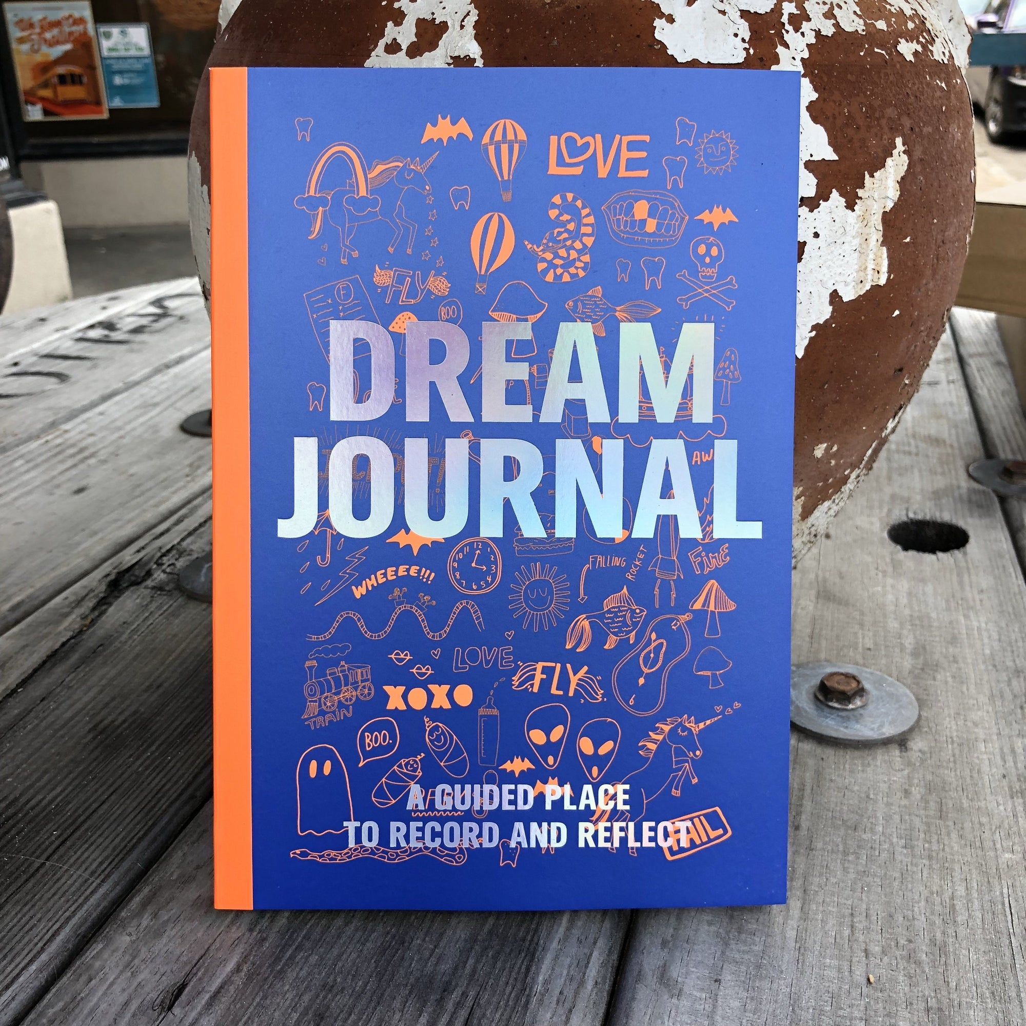 Buy Dream Journal from Walking Pants Curiosities, the Most un-General Gift Store in Downtown Memphis, Tennessee!