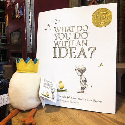 Buy What To Do With An Idea Plush from Walking Pants Curiosities, the Most un-General Gift Store in Downtown Memphis, Tennessee!