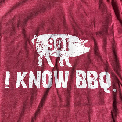 The 901 I Know BBQ Short Sleeve T-Shirt