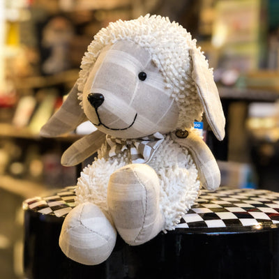 Buy Plush Easter Lamb Shelf Sitter from Walking Pants Curiosities, the Most un-General Gift Store in Downtown Memphis, Tennessee!