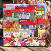 Buy eeBoo's Whimsical Village 1000 Piece Jigsaw Puzzle from Walking Pants Curiosities, the Most un-General Gift Store in Downtown Memphis, Tennessee!