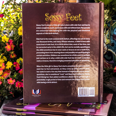 Buy Sassy Feet, Children's Book from Walking Pants Curiosities, the Most un-General Gift Store in Downtown Memphis, Tennessee!