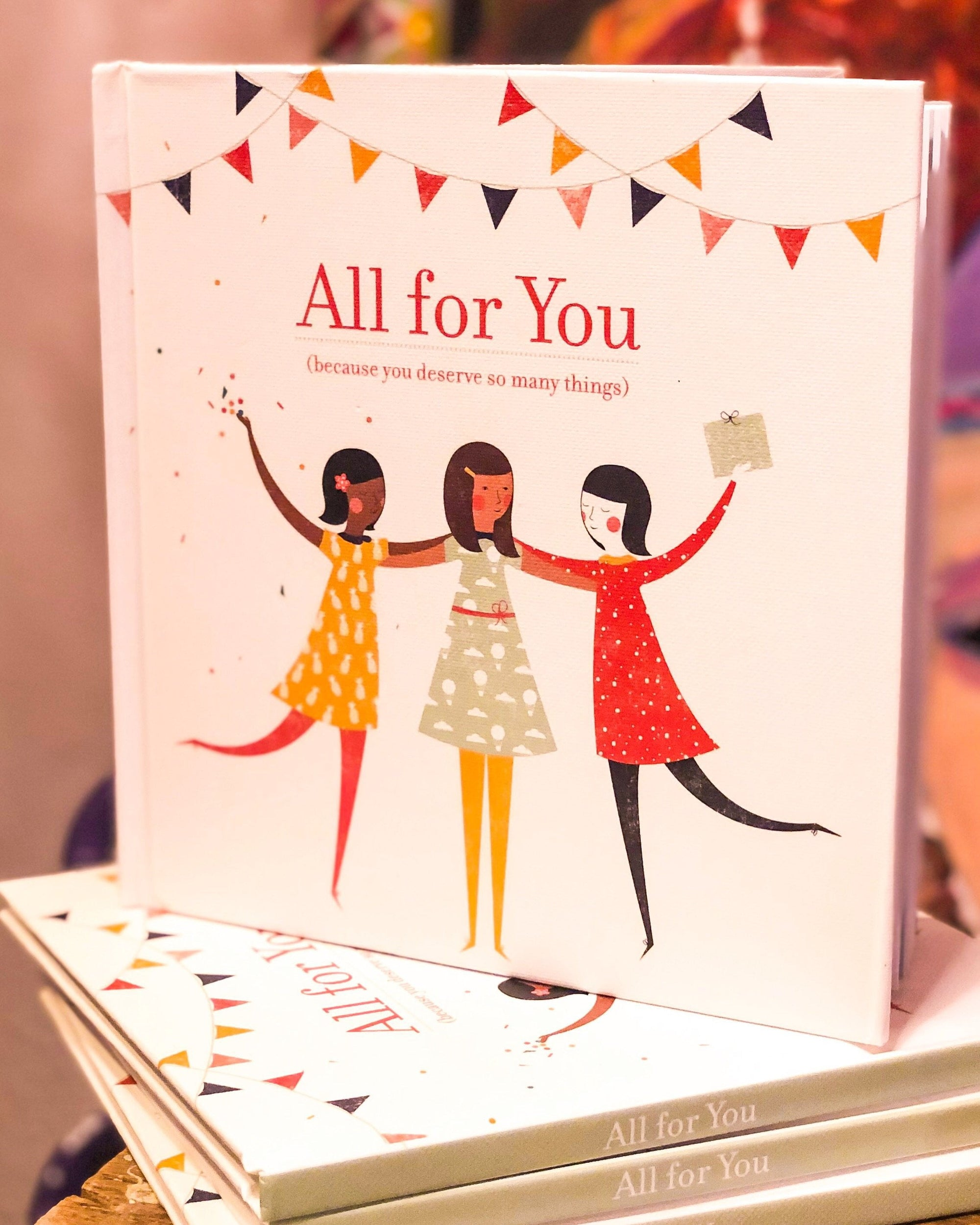 Buy All For You, An Inspirational Gift Book from Walking Pants Curiosities, the Most un-General Gift Store in Downtown Memphis, Tennessee!