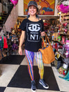 Buy Rainbow Brite Sassy Leggings from Walking Pants Curiosities, the Most un-General Gift Store in Downtown Memphis, Tennessee!