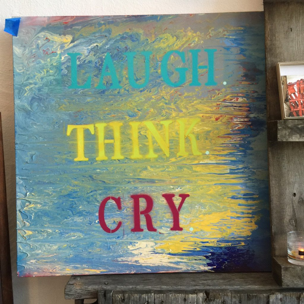 Laugh Think Cry by Adam Excelbeird - Walking Pants Curiosities