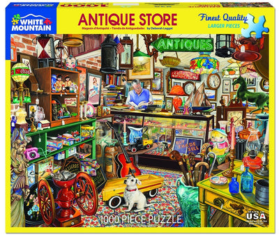 Buy Antique Store 1000 Piece Jigsaw Puzzle from Walking Pants Curiosities, the Most un-General Gift Store in Downtown Memphis, Tennessee!