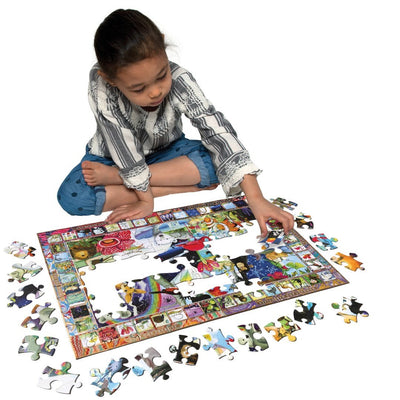 Buy Natural Science 100 Piece Jigsaw Puzzle from Walking Pants Curiosities, the Most un-General Gift Store in Downtown Memphis, Tennessee!