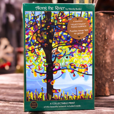 Buy Along The River 500 Piece Jigsaw Puzzle from Walking Pants Curiosities, the Most un-General Gift Store in Downtown Memphis, Tennessee!