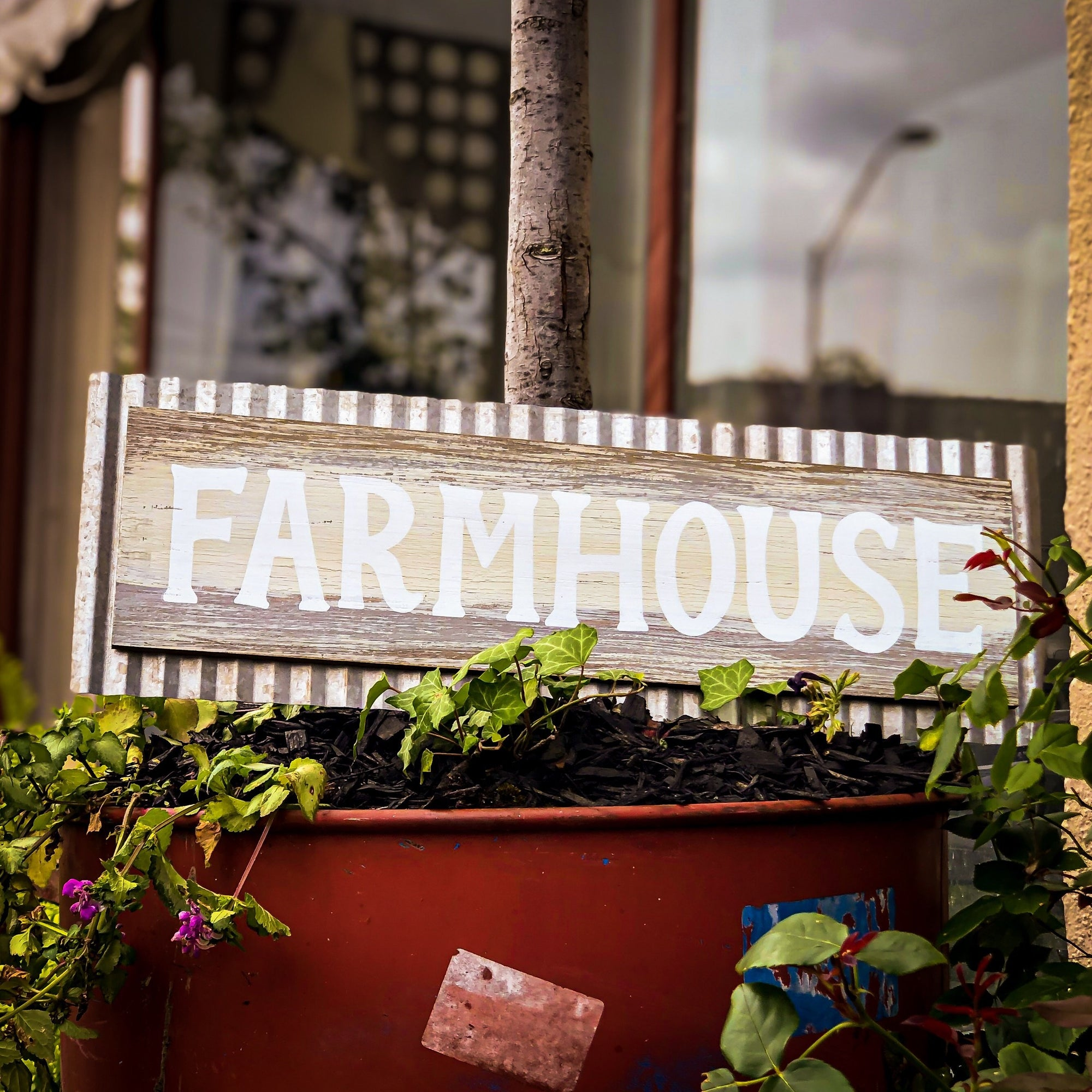 Buy Farmhouse Antique Weathered Wall Art from Walking Pants Curiosities, the Most un-General Gift Store in Downtown Memphis, Tennessee!