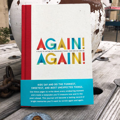 Buy Again! Again!, a Book from Walking Pants Curiosities, the Best Gift Store in Downtown Memphis, Tennessee!