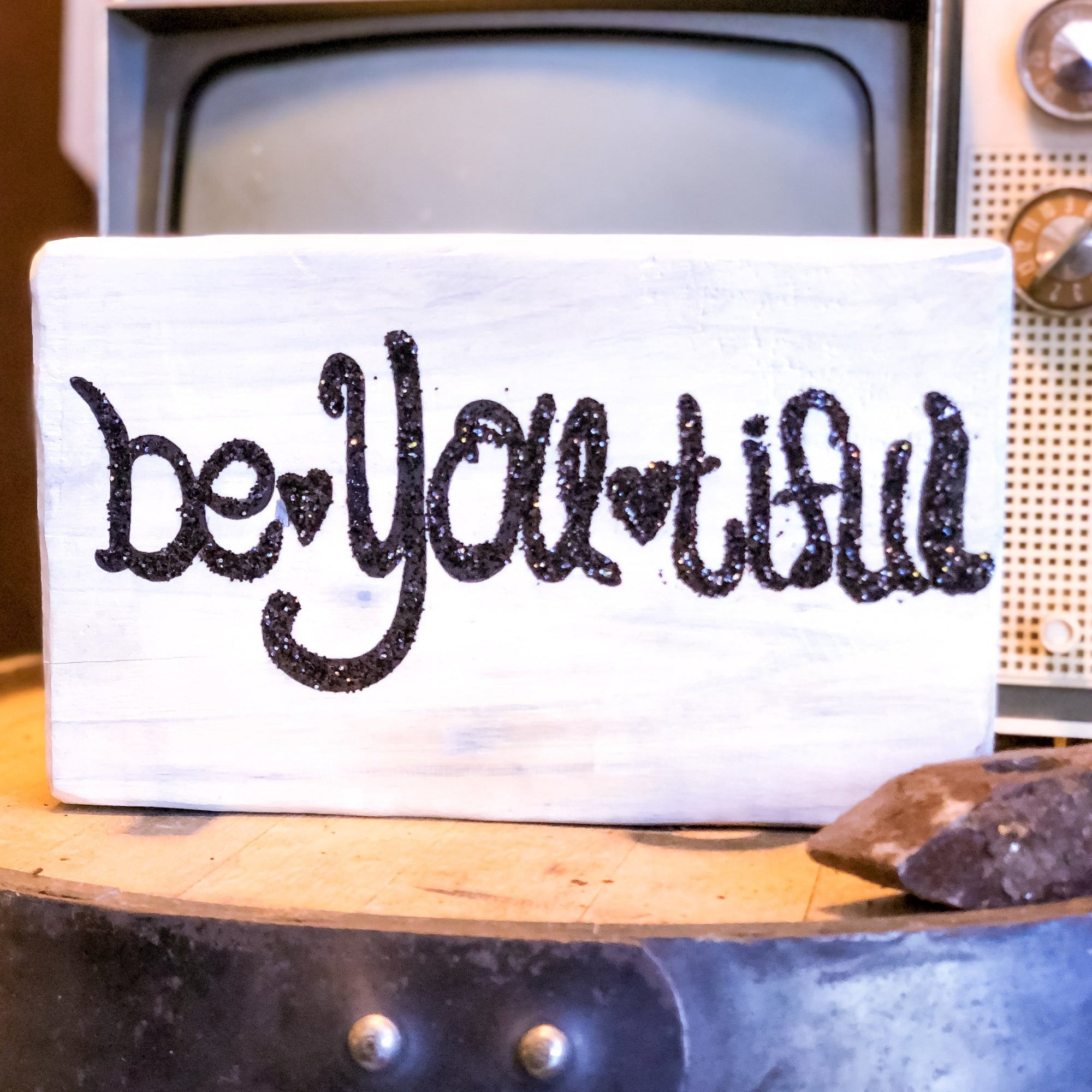 Buy Be-YOU-Tiful Wall Art from Walking Pants Curiosities, the Most un-General Gift Store in Downtown Memphis, Tennessee!