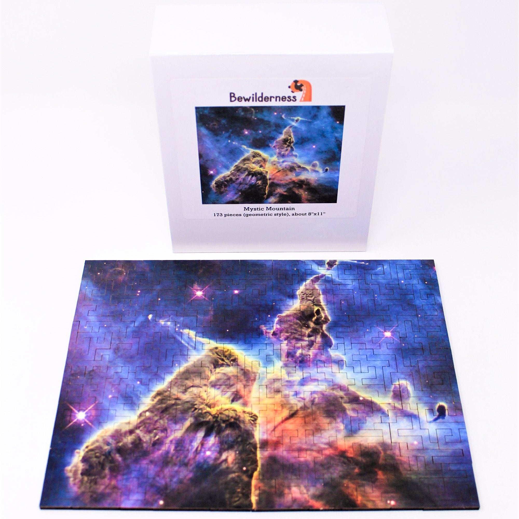 Mystic Mountain 173 Piece Geometric Style Bewilderness Jigsaw Puzzle - Walking Pants Curiosities
