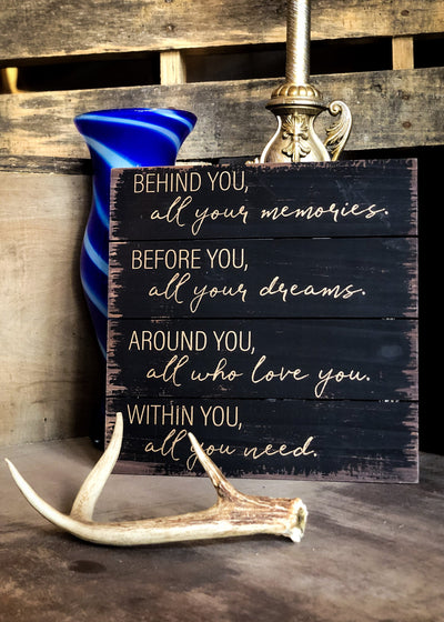 Buy Encouraging Words Wall Art Decor from Walking Pants Curiosities, the Most un-General Gift Store in Downtown Memphis, Tennessee!
