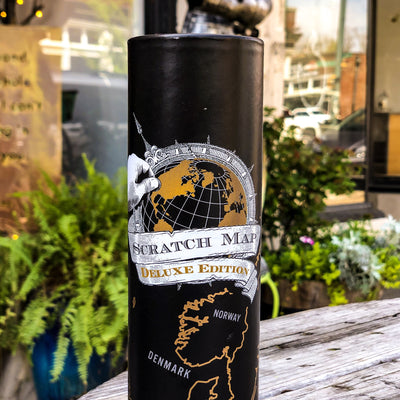 Buy Scratch Map ® World Deluxe Edition from Walking Pants Curiosities, the Most un-General Gift Store in Downtown Memphis, Tennessee!