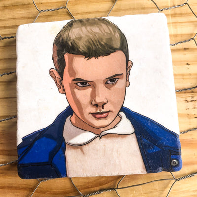 Buy Stranger Things  - SET OF 4 COASTERS from Walking Pants Curiosities, the Most un-General Gift Store in Downtown Memphis, Tennessee!