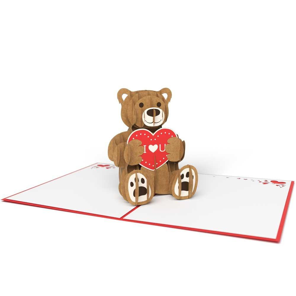 Buy Love Bear 3d, a Lovepop Magical Greeting Gift Card from Walking Pants Curiosities, the Most un-General Gift Store in Downtown Memphis, Tennessee!