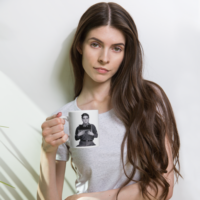 Buy Elvis Presley Coffee Mug Shot : Memphis Outlaws Collection from Walking Pants Curiosities, the Most un-General Gift Store in Downtown Memphis, Tennessee!