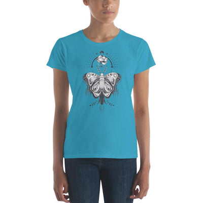 Buy Butterfly Crown Dream Catcher Women's Short Sleeve T-shirt from Walking Pants Curiosities, the Most un-General Gift Store in Downtown Memphis, Tennessee!
