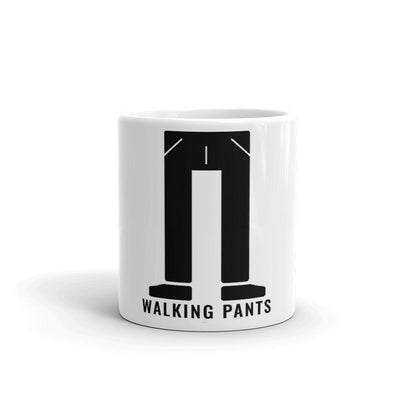 Buy Walking Pants Coffee Mug from Walking Pants Curiosities, the Most un-General Gift Store in Downtown Memphis, Tennessee!