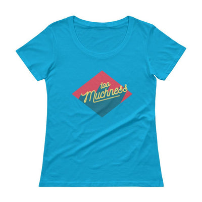 Buy Too Muchness Ladies' Scoopneck T-Shirt from Walking Pants Curiosities, the Most un-General Gift Store in Downtown Memphis, Tennessee!