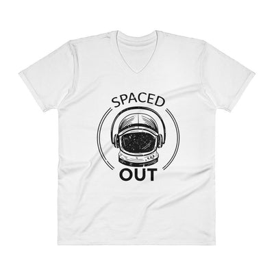 Buy Spaced Out V-Neck T-Shirt from Walking Pants Curiosities, the Most un-General Gift Store in Downtown Memphis, Tennessee!