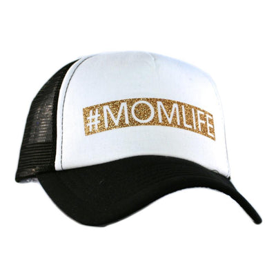 Buy #Momlife Glitter Trucker Hat from Walking Pants Curiosities, the Most un-General Gift Store in Downtown Memphis, Tennessee!