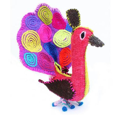 Buy Peacock Twoolies, a Stuffed Animals from Walking Pants Curiosities, the Best Gift Shop Store in Memphis, Tennessee!