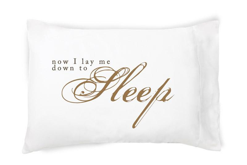 Now I Lay Me Down To Sleep Pillowcase - Walking Pants Curiosities