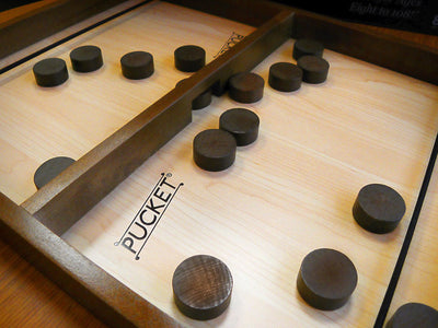 Pucket, The Family Game of Speed and Nerves