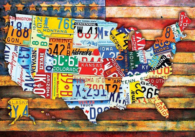 Road Trip U.S.A. 300 Large Piece Jigsaw Puzzle