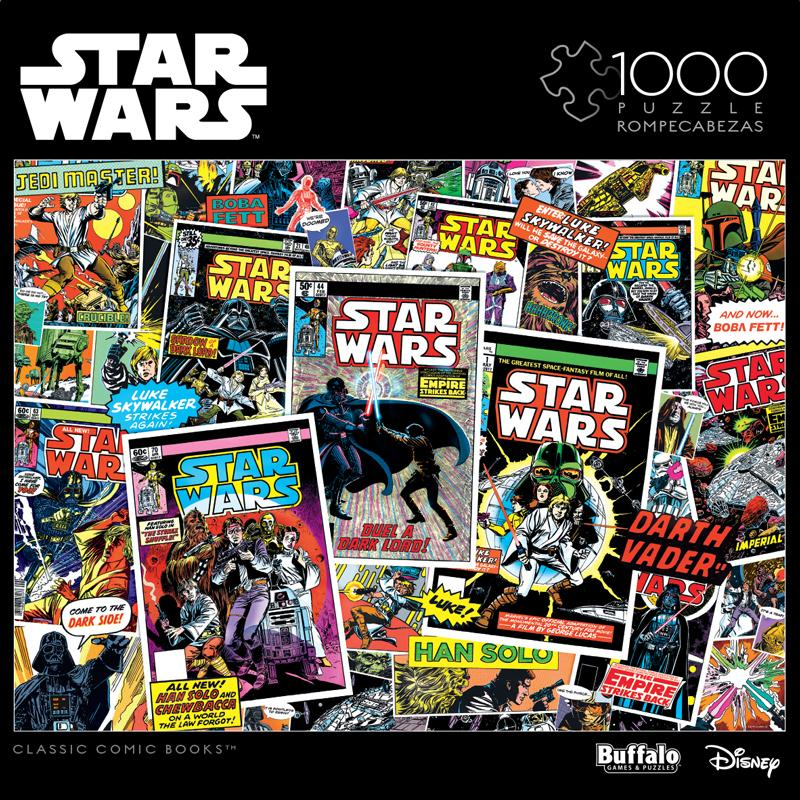 Buy Star Wars: Classic Comic Books 1000 Piece Jigsaw Puzzle from Walking Pants Curiosities, the Most un-General Gift Store in Downtown Memphis, Tennessee!