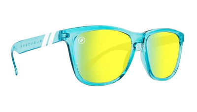 Blenders K Series Aqua Lounge Citrus Blue Gold Sunglasses