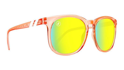 Buy BLENDERS H Series Secret Paradise Salmon/Gold Sunglasses, a Sunglasses from Walking Pants Curiosities, the Best Gift Store in Downtown Memphis, Tennessee!