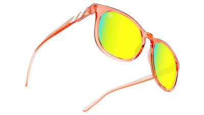 Buy BLENDERS H Series Secret Paradise Salmon/Gold Sunglasses from Walking Pants Curiosities, the Most un-General Gift Store in Downtown Memphis, Tennessee!