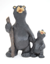 Buy Papa Bear and Cub Figurines from Walking Pants Curiosities, the Most un-General Gift Store in Downtown Memphis, Tennessee!